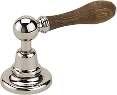Carpe & Lyre - Wooden lever handle