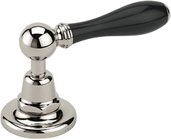 Carpe & Lyre - Ebony lever handle